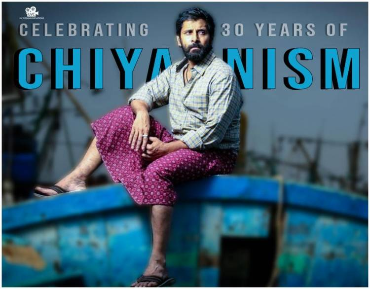 Congratulations #ChiyaanVikram sir for completing successful 30 years in Indian cinema