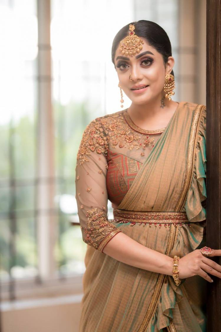 The Latest Photoshoot Stills Of Beautiful Actress @AbhiramiVenkat3 With A Exquisite & Graceful Look.