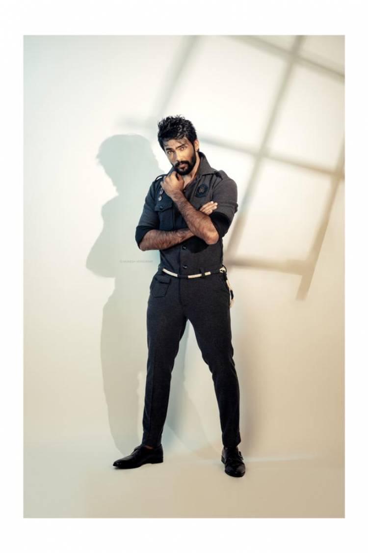Actor Arav's  Stylish Look...