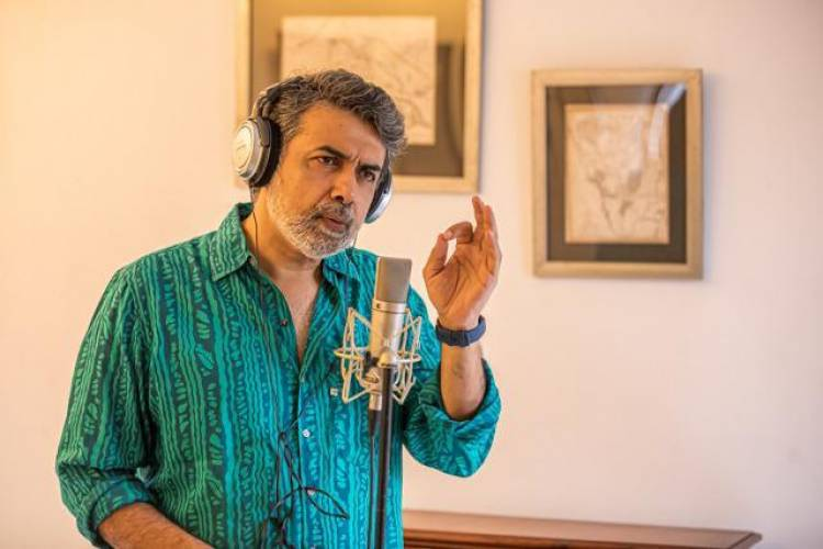 Ace Cinematographer @DirRajivMenon composed and performed, A Tamizh Isai Composition #Kadavulumnaanum