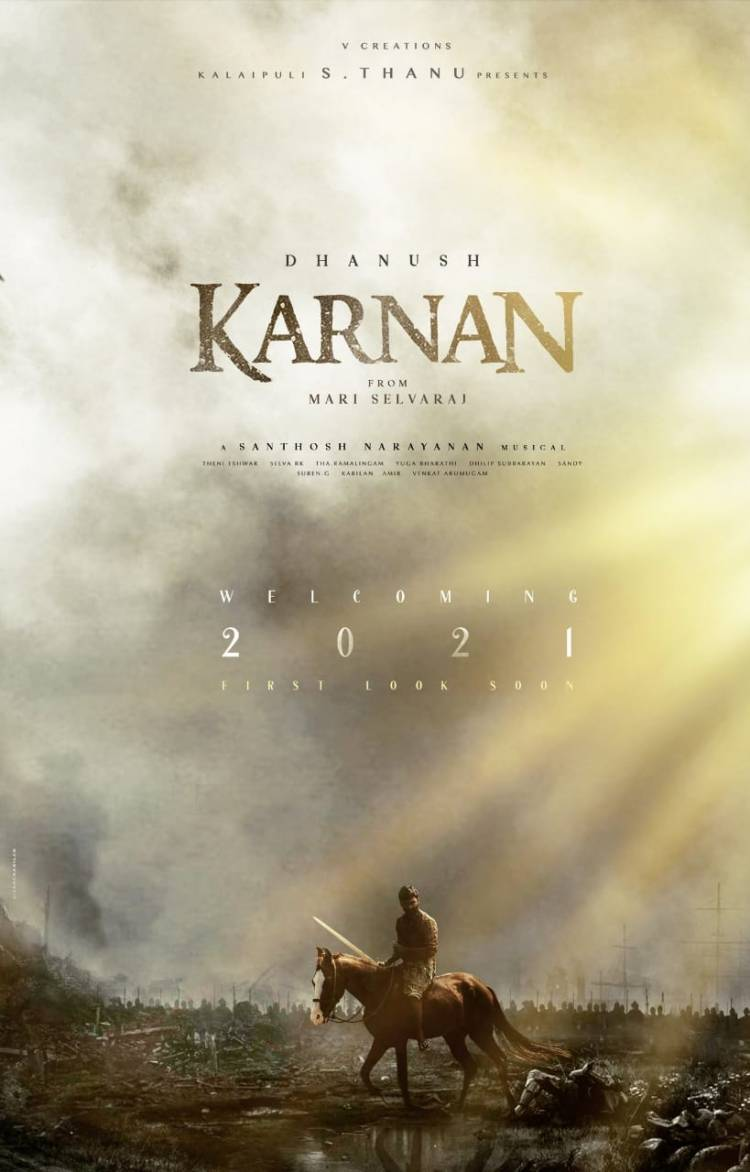 #HappyNewYear2021 wishes from @KarnanTheMovie  #Karnan FL Soon!