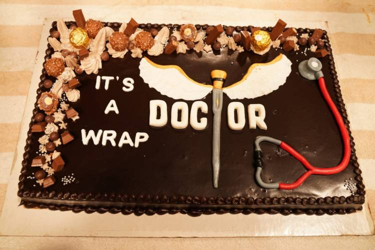 #Doctor shoot wrapped   #DOCTORWrapUp