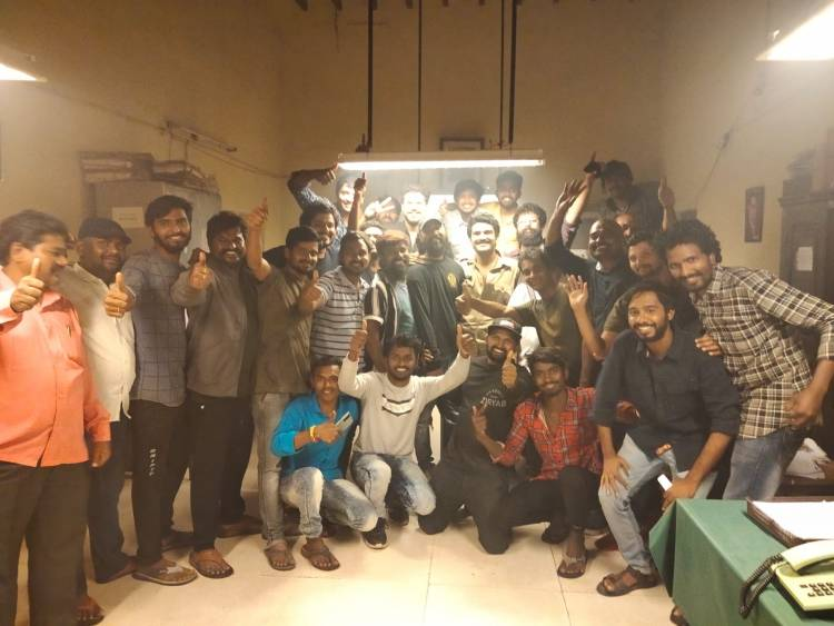 And it's a wrap for @kiran_abbavaram 's #SebastianPC524  starring @komaleeprasad & #Namratadarekar
