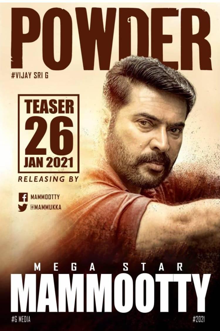 #Powder teaser 26 th jan #relieasingby #MegaStar @mammukka
