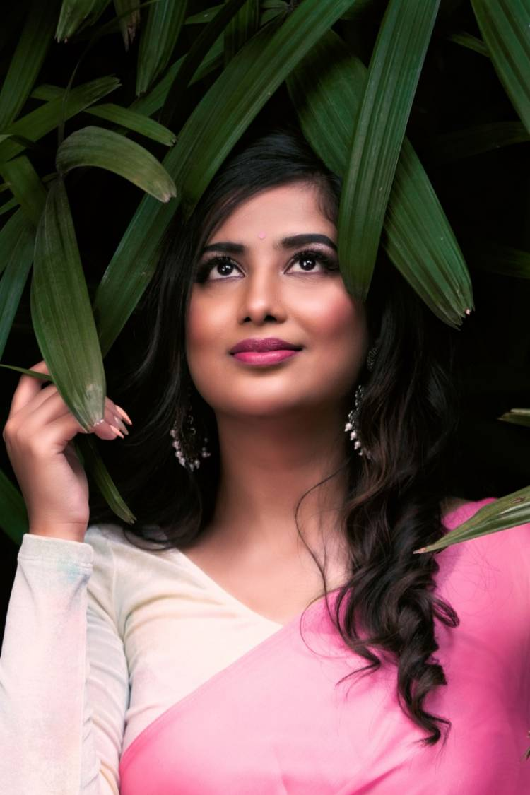 Niviksha Naidu looking so pretty in pink outfit  #Cocktail