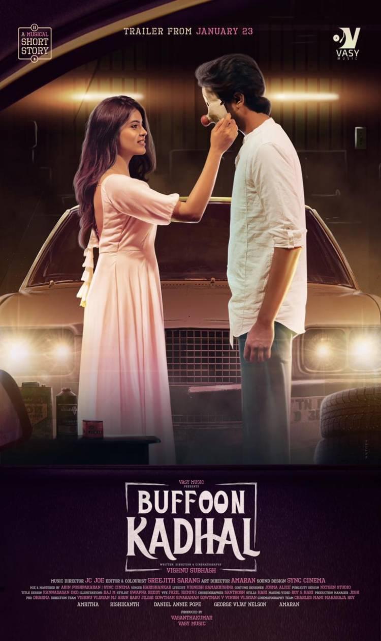 #BuffonKadhal Trailer from 23rd Jan a Brilliant musical tale.