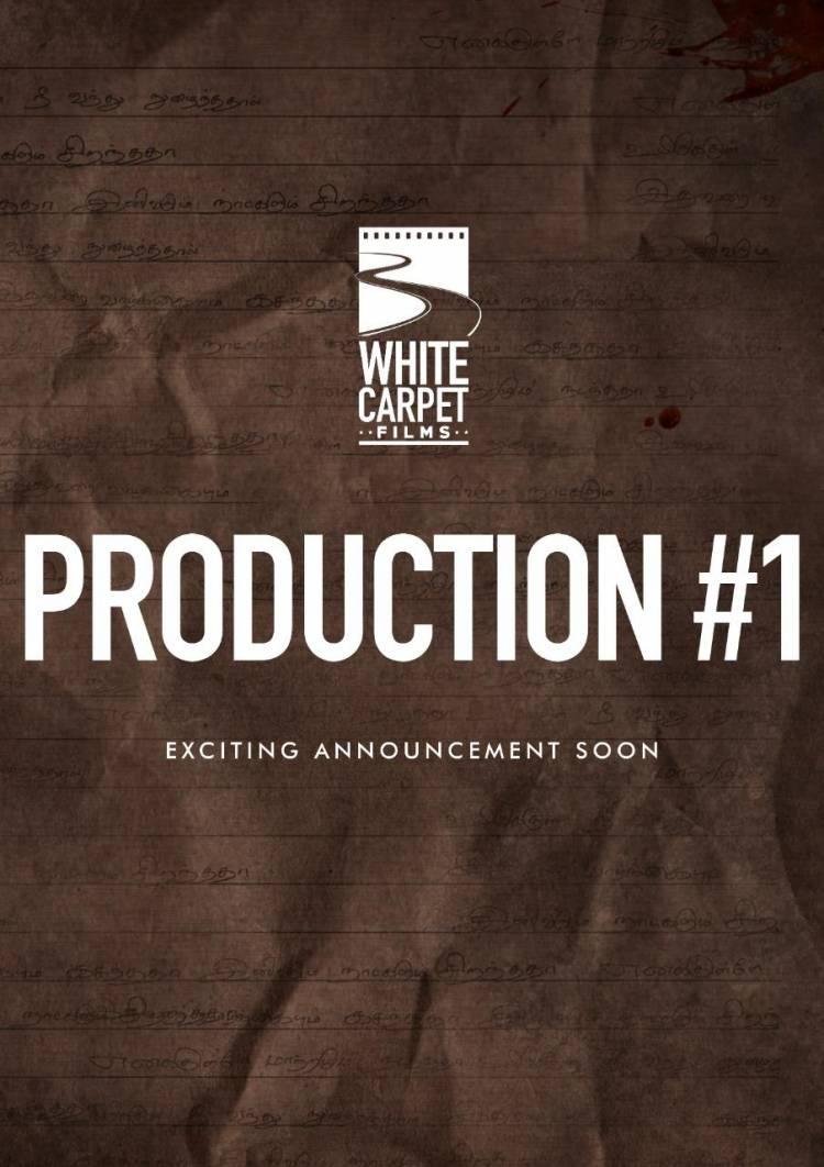 Producer Kalaipuli S Thanu revealed the Logo of #WhiteCarpetFilms production
