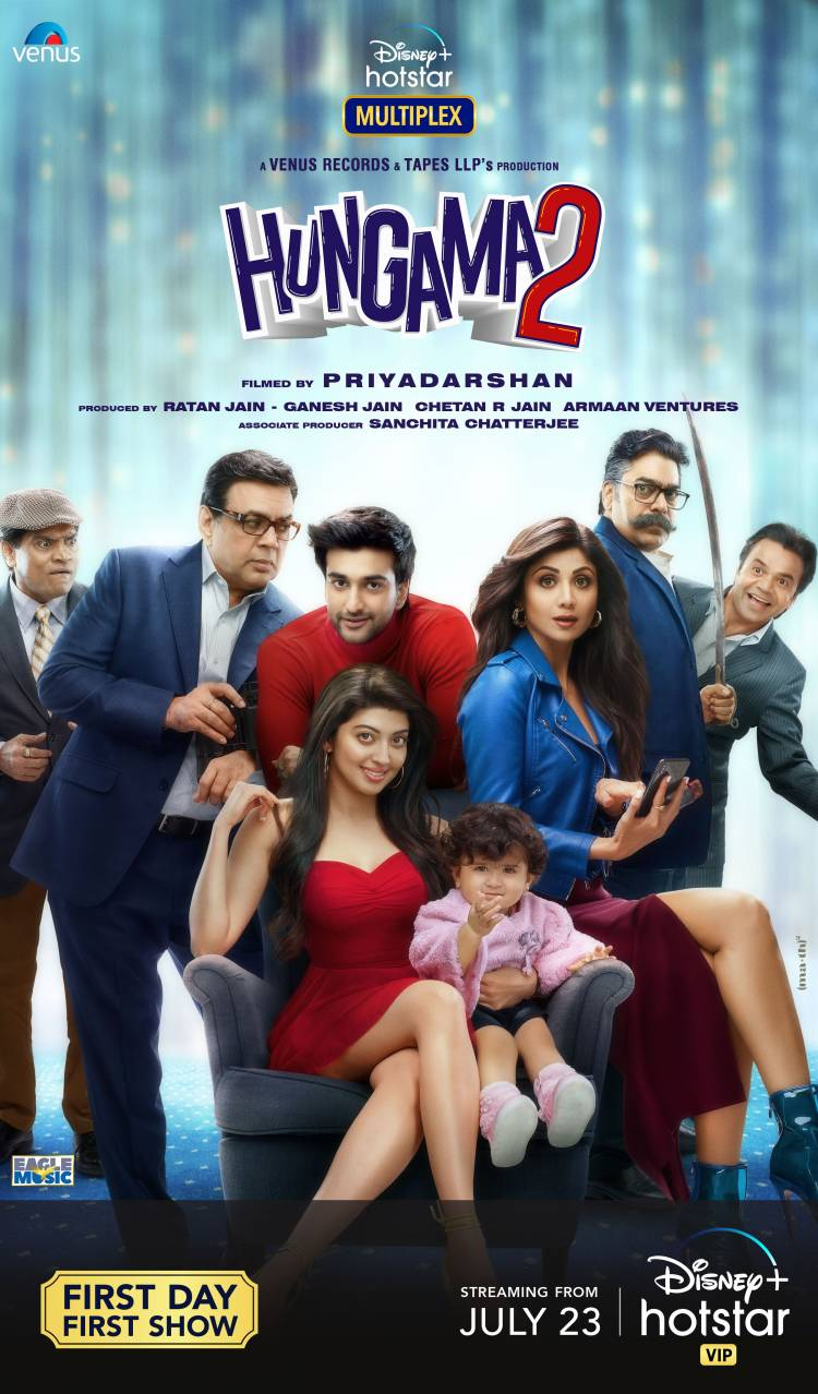 """""""Remixed Chura Ke Dil Mera is more GEN Z"""", says Shilpa Shetty Kundra about the fan-favourite song in upcoming movie Hungama 2"""