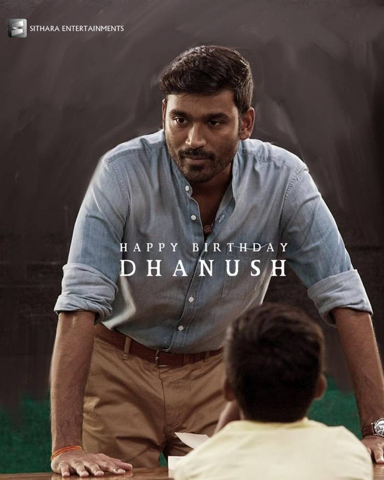 Sithara Entertainments wishes the supremely talented & the very finest actor @dhanushkraja garu, a very Happy Birthday!