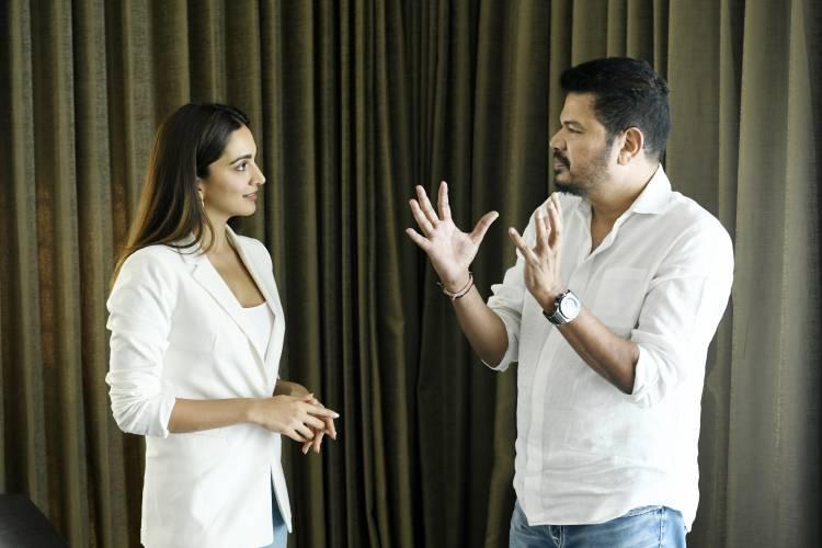 Kiara Advani joins the stellar team of Director Shankar, Ram Charan, and producer Dil Raju for the next big ticket film!