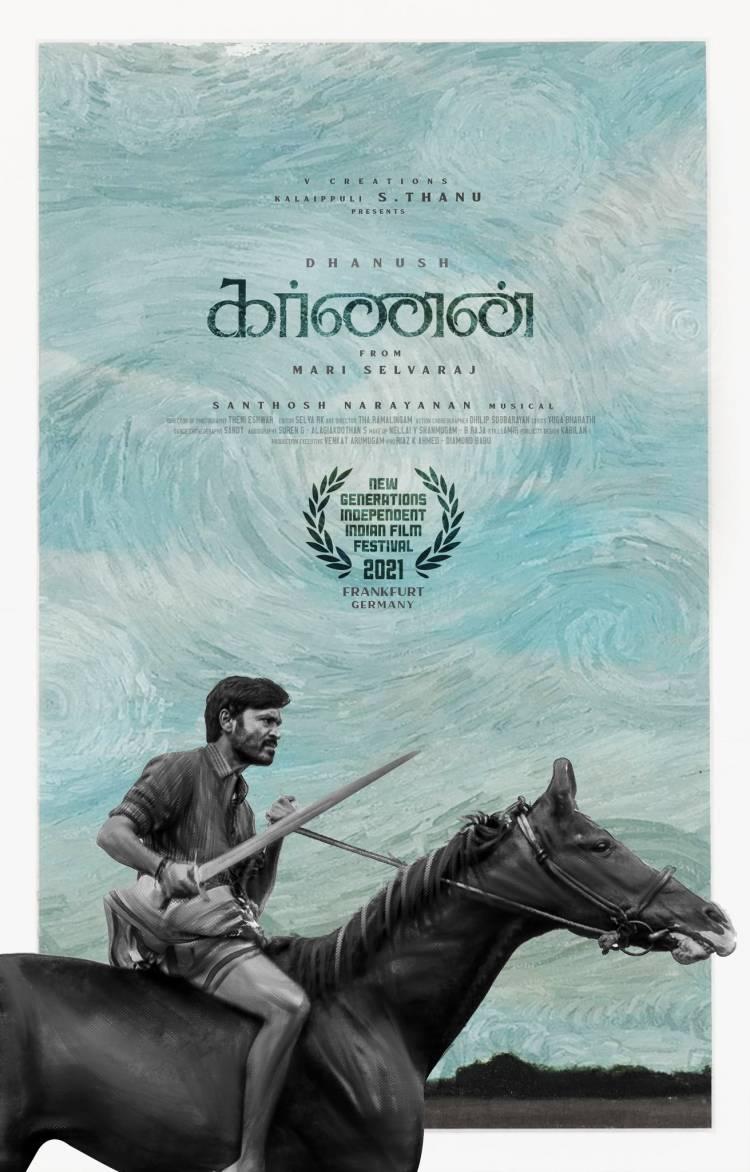 உலக அரங்கில் தனுஷின் 'கர்ணன்' திரைப்படம்!!