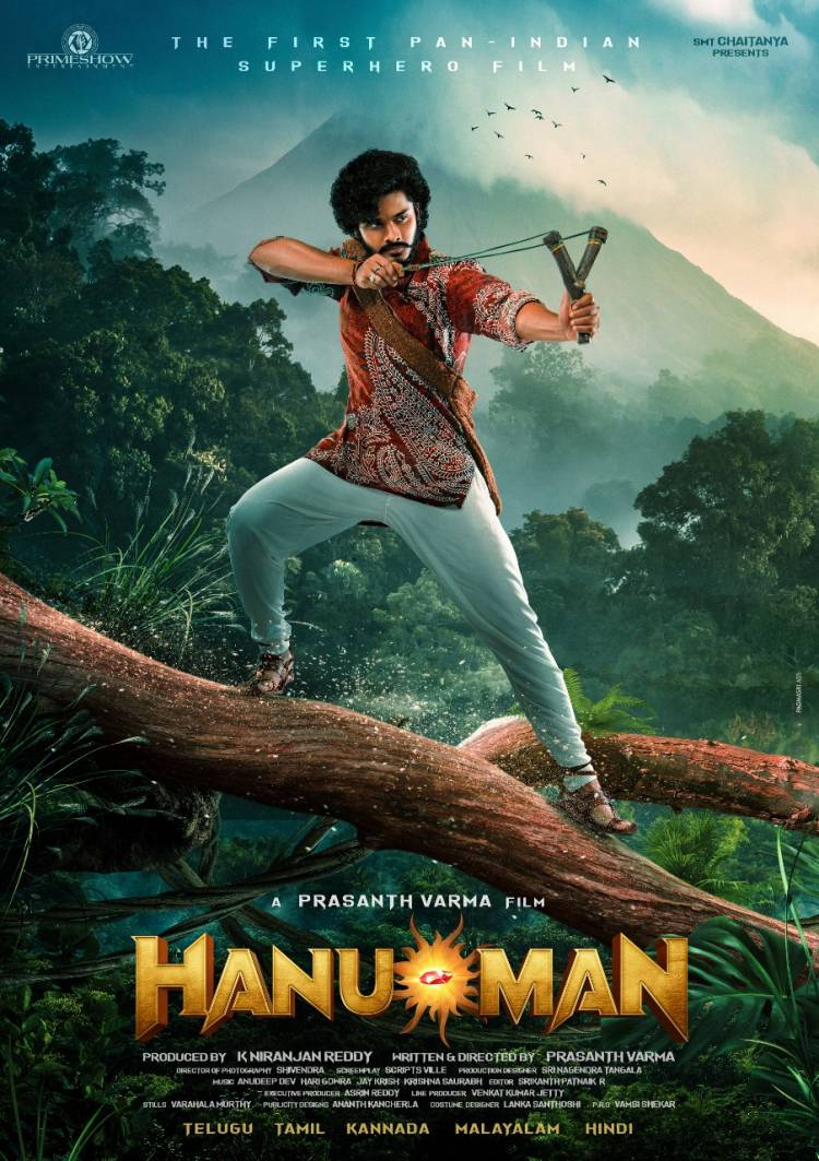 Director @PrasanthVarma 's adventures never cease to amaze us Introducing @tejasajja123 as #Hanumanthu from the world of #Anjanadri Launched by @dulQuer
