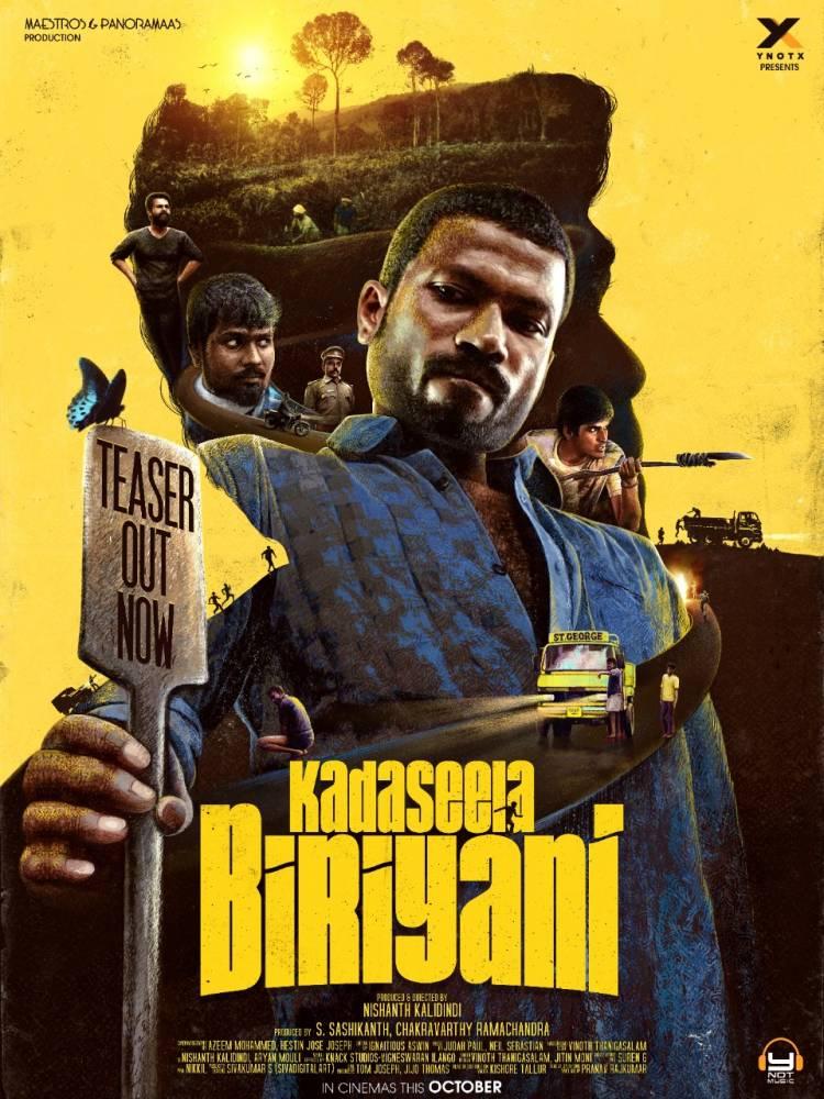#KadaseelaBiriyani Presented by @ynotxworld Directed by Nishanth Kalidindi @fratrate and Narrated by 'Makkal Selvan' @VijaySethuOffl !