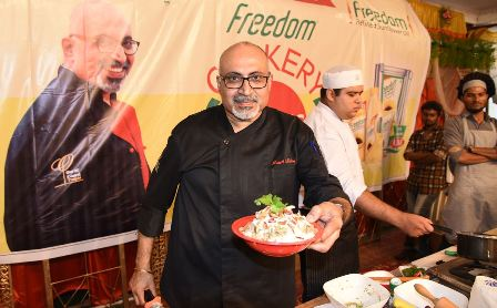 5th Freedom Cookery Class by Chef Puneet Mehta