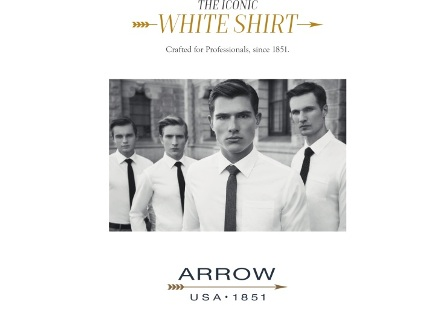 ARROW revives timeless style with the Iconic White Shirt