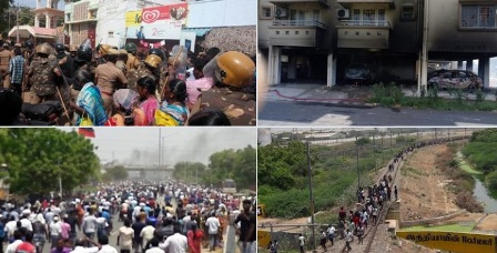 Anti-Sterlite protest in Tamil Nadu turns violent