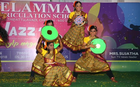 Cultural Fest JAZZ ?18 held at Velammal Avadi Campus