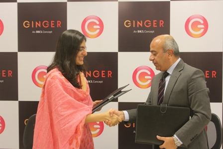 Ginger Expands its Footprint in Noida, NCR with the signing of