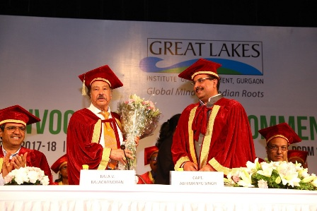 Great Lakes Institute of Management, Gurgaon Convocation 2018