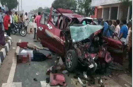 Groom, among 6 killed in MP accident