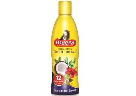 Introducing Meera Herbal Hair Oil - a solution to most of your