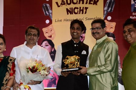 Laughter - filled night Organized by Navakar Darshan