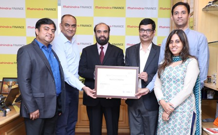 MMFSL, the first NBFC globally to be rated at Maturity Level 5