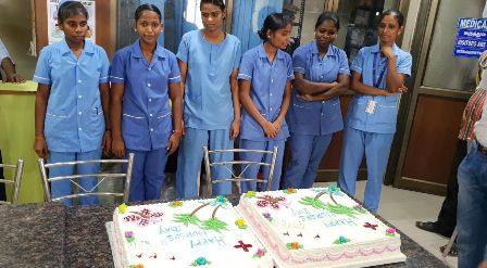 New Hope Hospital (May 12) Happy Nurses Day function Gallery