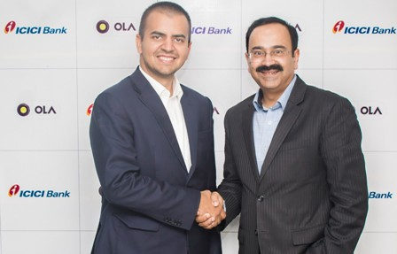 Ola and ICICI Bank Sign MoU to Bring Innovative Solutions to Cu