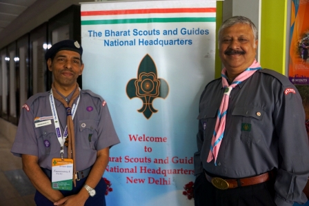 Over 5mn Bharat Scouts and Guides ?Give Up? plastic woggles wit