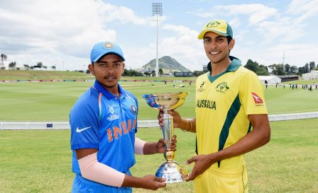 Rain interrupts India's chase in ICC U19 World Cup final