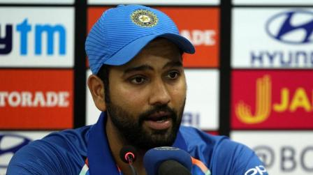 Rohit Sharma praises Indian bowlers