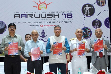 SRM?s Aaruush 2018 inauguration