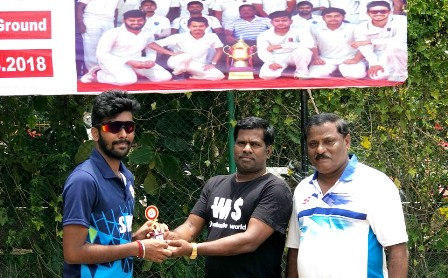 SRM Founder's Trophy Cricket Tournament - Second Day Results