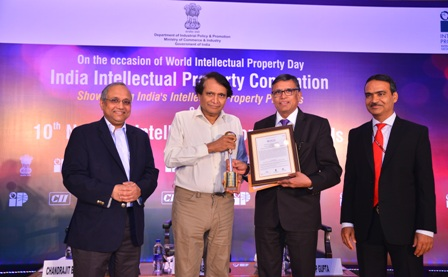 SRMIST receives National IP Award 2018