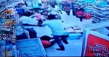 Shop manager beaten after catching woman constable stealing