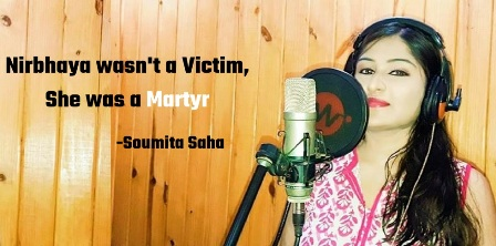 Singer Soumita Saha calls for declaring December 29 as Nirbhaya