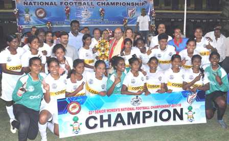 Tamil Nadu eves win national football championship