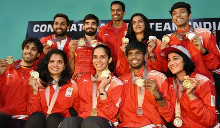 UP to felicitate CWG medal winners from state