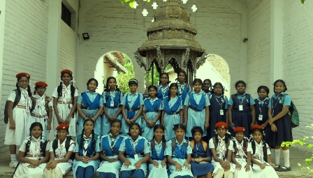 Velammal Students on a Cultural Heritage Trip
