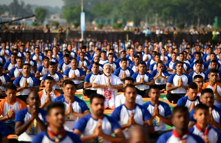 Yoga one of most powerful unifying forces: Modi