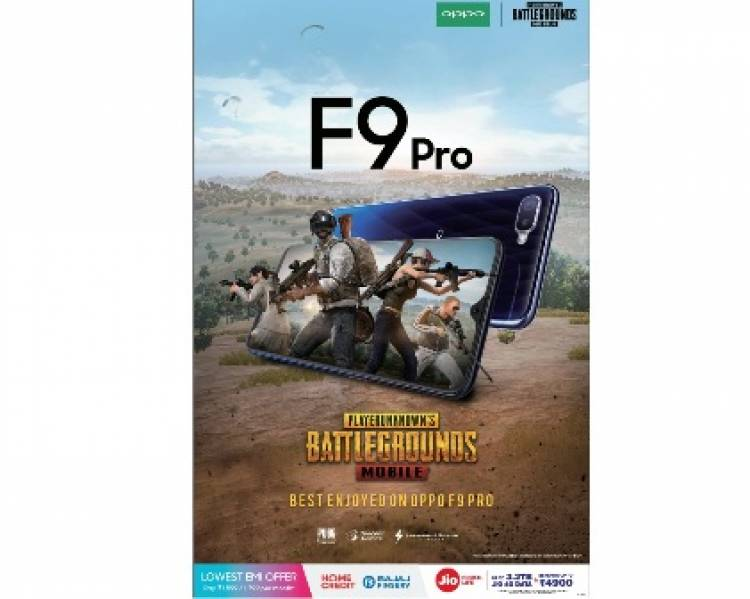 OPPO F9 Pro takes PUBG experience to the next level