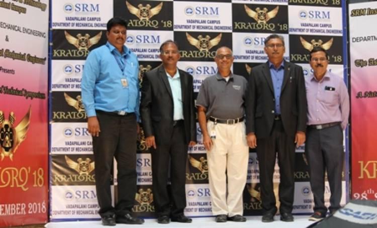 "KRATORQ""18 - NATIONAL TECHNICAL SYMPOSIUM @ SRMIST VDP Campus"