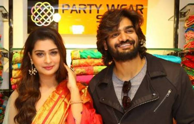 Actress Payal Rajput Inaugurates KLM 8th Fashion Mall @ Suchitra