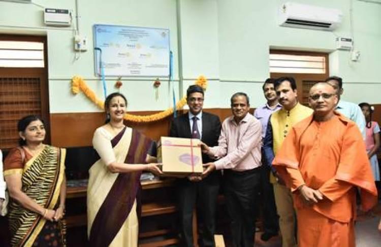 Global Grant for Sri Ramakrishna Math Vivekananda Centenary Girls School