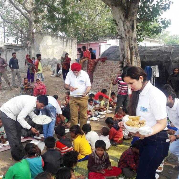 Exotica Housing celebrates Children's Day with Slum Kids