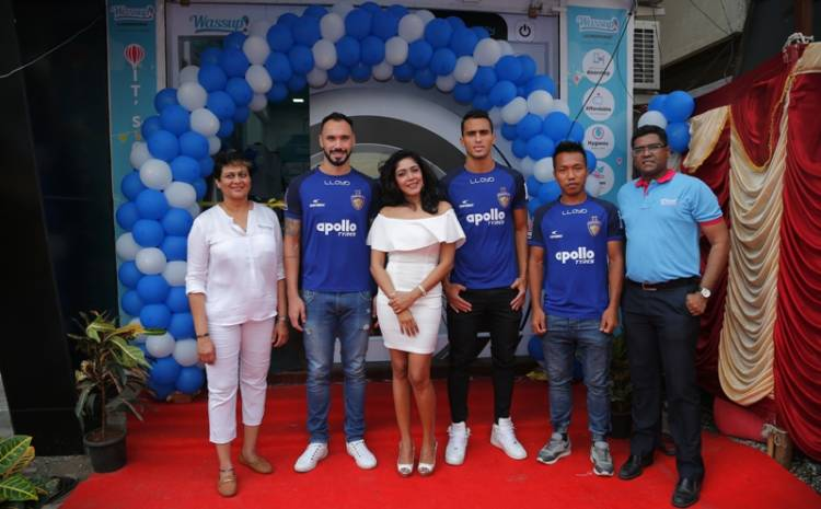 Chennai's First LAUNDROMAT WASSUP Launched