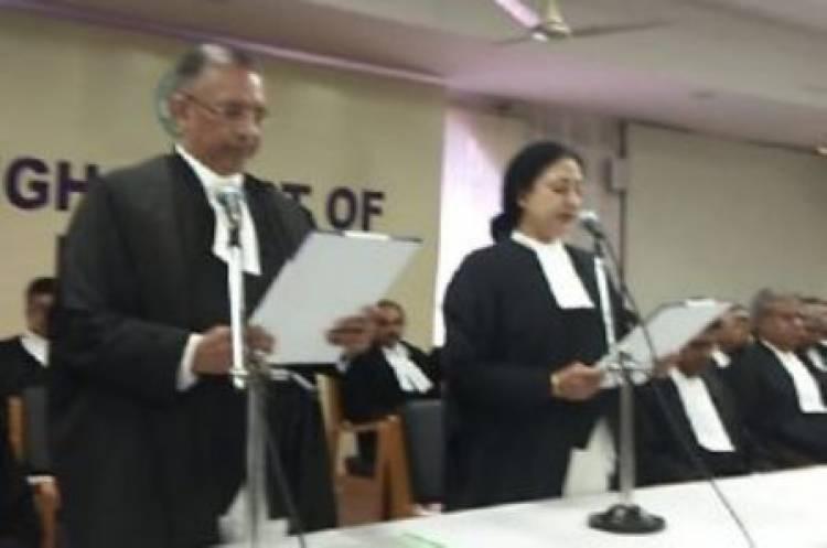 Justice Vineet Kothari takes charge at Madras HC
