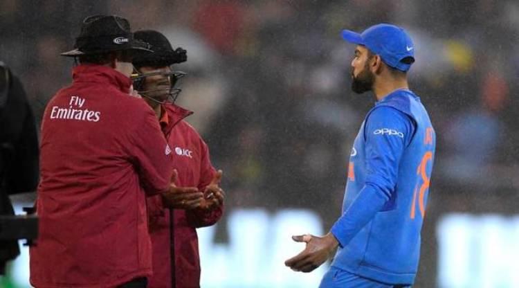 India vs Australia 2nd T20 match abandoned
