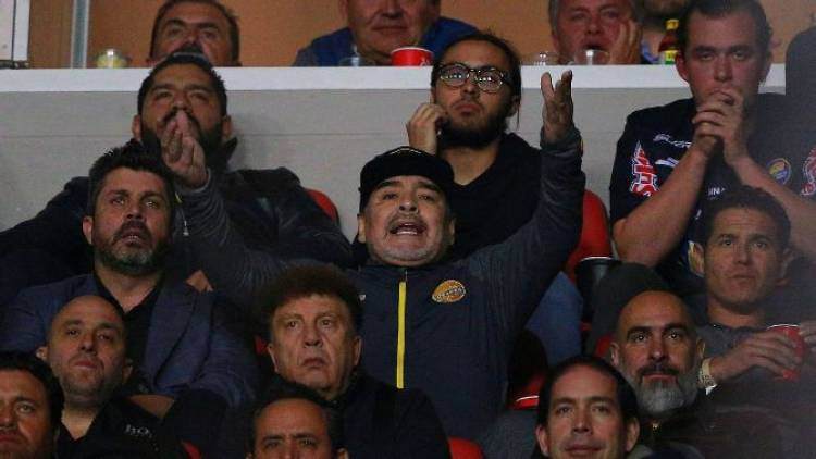 Disciplinary action against Diego Maradona for spat